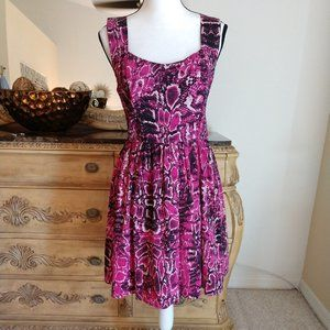 Bar lll Fit & Flare Fun Dress. Size Large
